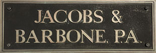 JACOBS & BARBONE P.A.